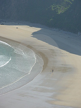 Lonely Beach Royalty Free Stock Photography - Image: 5751167