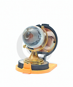Compass And Globe - Travel Concept Stock Photography - Image: 5751722