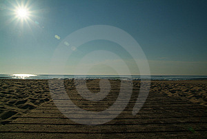 Path To Ocean Stock Photography - Image: 5756932