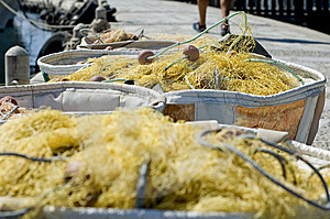 Fishing Net Royalty Free Stock Photos - Image: 5759498