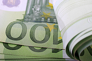 100 Cientos Euros Imágenes de archivo libres de regalías - Imagen: 5762419