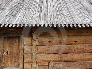 Greater Rural Log Hut Royalty Free Stock Images - Image: 5765939