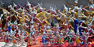 Thailand Pattaya Religious Statues Stock Image - Image: 5767521