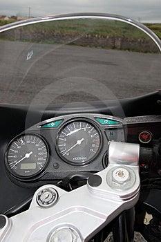 Motorbike 2 Royalty Free Stock Images - Image: 5771159
