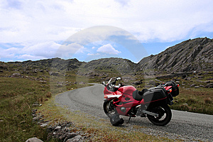 Motorbike Tour 3 Royalty Free Stock Photos - Image: 5771268