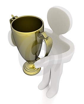 First Winners Royalty Free Stock Photography - Image: 5771447