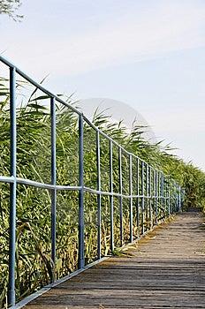 Footbridge Stock Photo - Image: 5771990