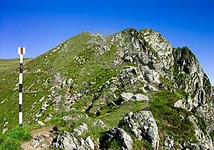 Mountain Ridge In Romania Stock Photos - Image: 5776813