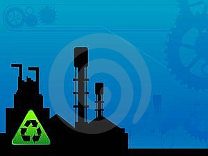 Recycle In Industry Royalty Free Stock Image - Image: 5776836
