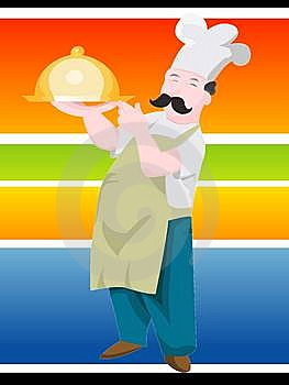 Professional Cook Royalty Free Stock Photography - Image: 5776917