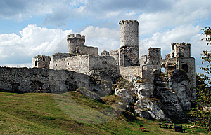Ruins Of Ancient Castle Stock Images - Image: 5779964