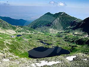 Carpathian Mountain Lake Royalty Free Stock Images - Image: 5780949