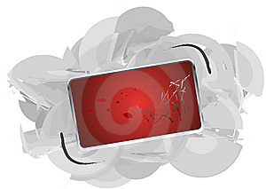 Red Banner Royalty Free Stock Photos - Image: 5781058