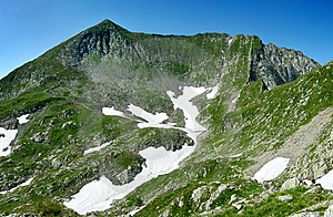 Fagaras Mountains In Romania Royalty Free Stock Images - Image: 5781429