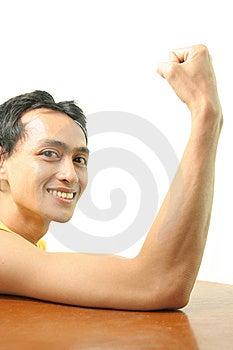 Homem Magro Imagens de Stock - Imagem: 5790914