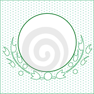 Green Circle Stock Image - Image: 5791391