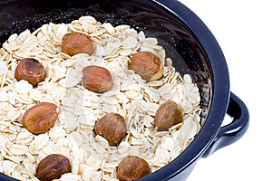Bowl Of Oatmeal Royalty Free Stock Images - Image: 5792409