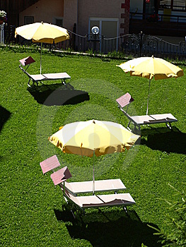 Relax On The Lawn Royalty Free Stock Photography - Image: 5793227