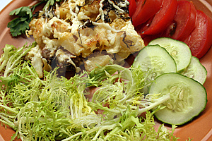 Pork Baked With Vegetabels Stock Images - Image: 5793314