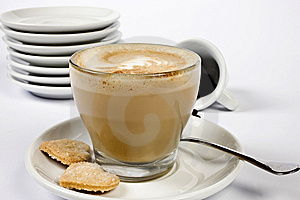 Creamy Coffee Stock Photos - Image: 5795583