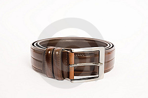 Folded belt Royalty Free Stock Image