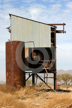 Railroad Structure Royalty Free Stock Image - Image: 580376