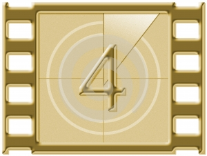 Film countdown Stock Images