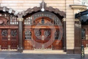 Ornate Entrance 01 Royalty Free Stock Photo - Image: 585115