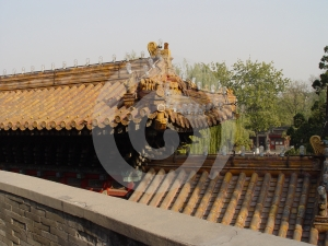 Tiled Roof Royalty Free Stock Images - Image: 585179
