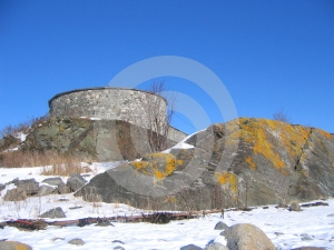 Steinvikholm Castle Stock Photo - Image: 585520