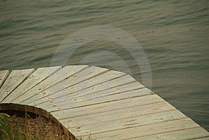 Dock Curve Stock Photography - Image: 5801172