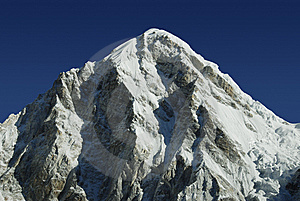 Mt. Pumori In The Himalayas Royalty Free Stock Images - Image: 5801719