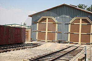 Train Station Royalty Free Stock Photography - Image: 5802717
