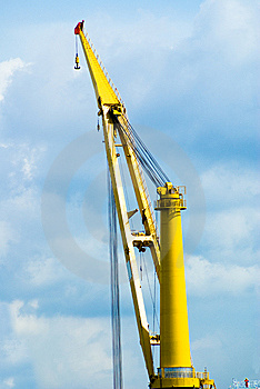 Port Equipments Royalty Free Stock Photography - Image: 5802827