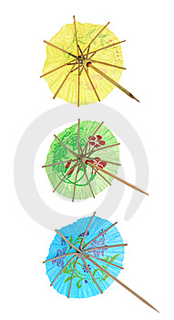 Cocktail Umbrellas Stock Photos - Image: 5804083
