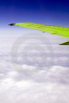 Wing Of The Plane Royalty Free Stock Photos - Image: 5804408