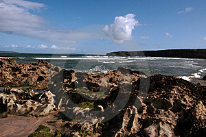 Black Rocks 5 Stock Images - Image: 5805604