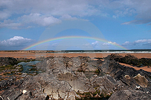 Black Rocks 7 Royalty Free Stock Images - Image: 5805689