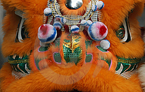 Close Up Of A Chinese Dragon Head Costume Stock Photography - Image: 5807632