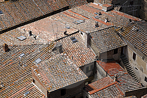 Terracotta Roof Tops Royalty Free Stock Images - Image: 5807919