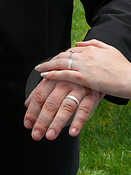 Wedding Rings Stock Photo - Image: 5808290