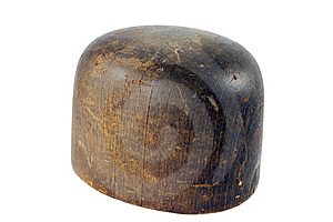 Wooden Hat Mold Royalty Free Stock Images - Image: 5811309