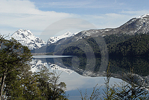 Reflected Mountains On The Lake Stock Photos - Image: 5812553