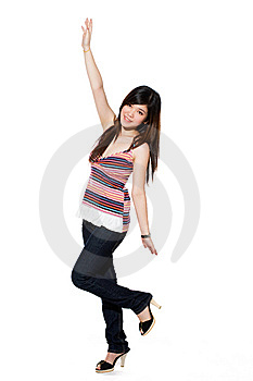 Happy Teenage Girl Stock Photo - Image: 5813690