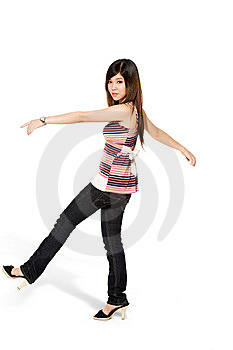 Happy Teenage Girl Stock Images - Image: 5813694