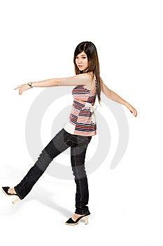 Happy Teenage Girl Stock Images - Image: 5813694