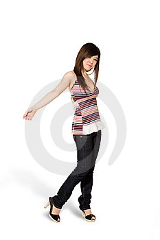 Happy Teenage Girl Stock Photography - Image: 5813702
