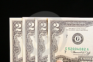 Billet De Deux Dollars Images stock - Image: 5818144