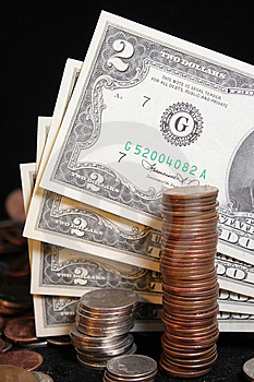 Two Dollar Bill Royalty Free Stock Images - Image: 5818189
