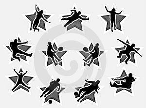 άνθρωποι ενέργειας Στοκ Εικόνες - εικόνα: 5820244